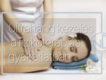Ultrahang kezelés a fizikoterápiás gyakorlatban