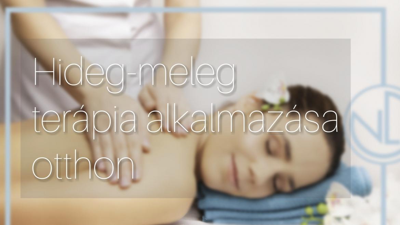 Hideg-meleg terápia megfelelően alkalmazható gyulladásra vagy hirtelen fellépő fájdalmak esetén.