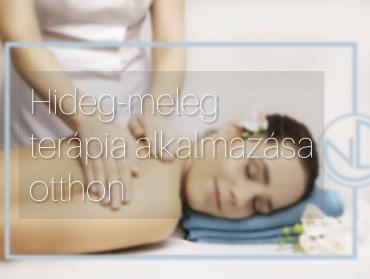 hideg-meleg terápia alkalmazása otthon