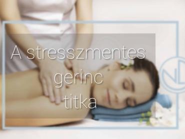 A stresszmentes gerinc titka
