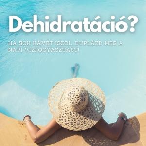 masszázs nyáron dehidratáció